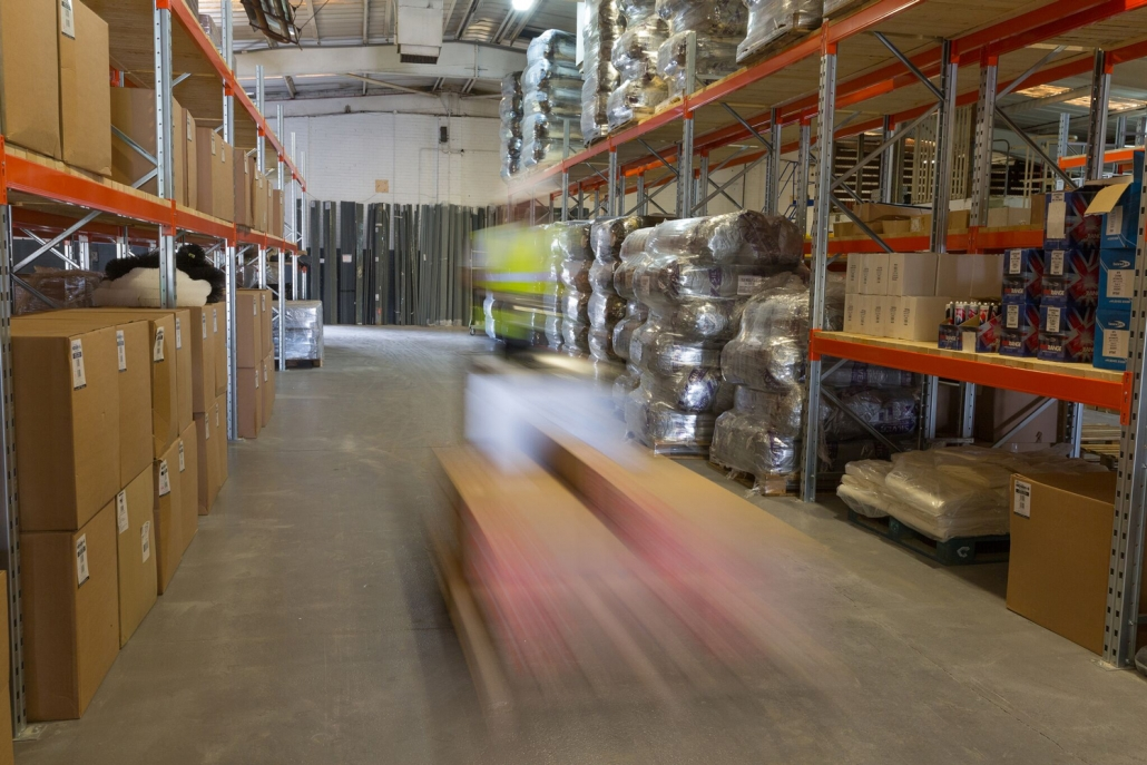 The Construction Materials Online warehouse
