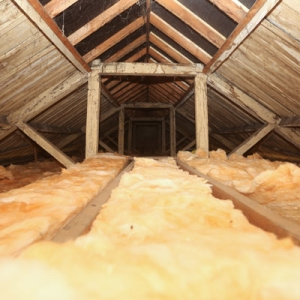 Ninfield Hall insulation